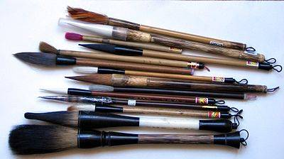 Fabriquer des pinceaux, un artisanat qui se perd...