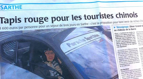 La Sarthe attend les touristes chinois